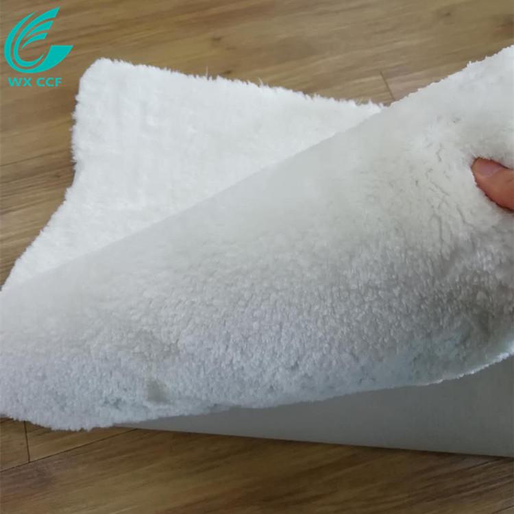 bedroom living room custom white fur rug floor mat