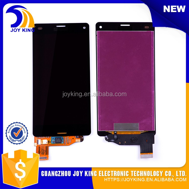 [joyking] wholesale high quality lcd for sony xperia z3 compact d5803, for sony z3 compact lcd screen replacement