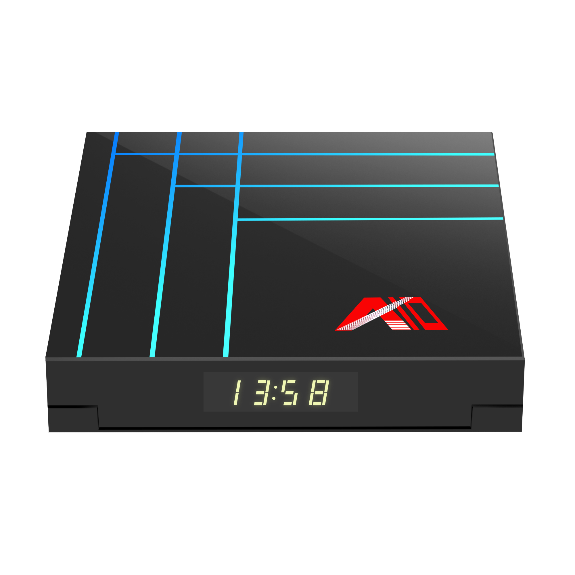 A10 RK3318 2G/4G di RAM 16G/32G/64G ROM smart TV box rockchip RK3318 android 9.0 tv box A10 set top box