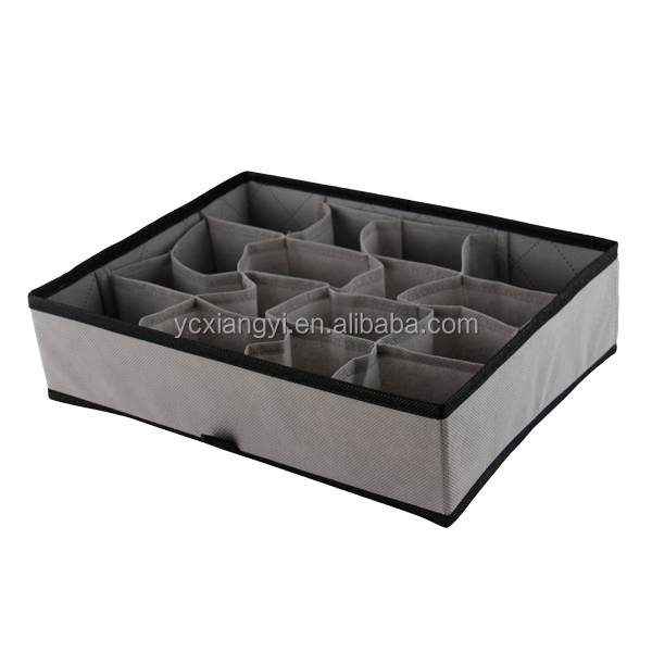 Bamboo Charcoal Drawer Divider Clothes Storage Box