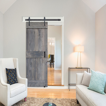 Rustic Style Vertical Slat V Groove Knotty Alder Interior Sliding Mid Bar Plank Barn Doors Buy Knotty Alder Plank Barn Doors Interior Sliding Mid