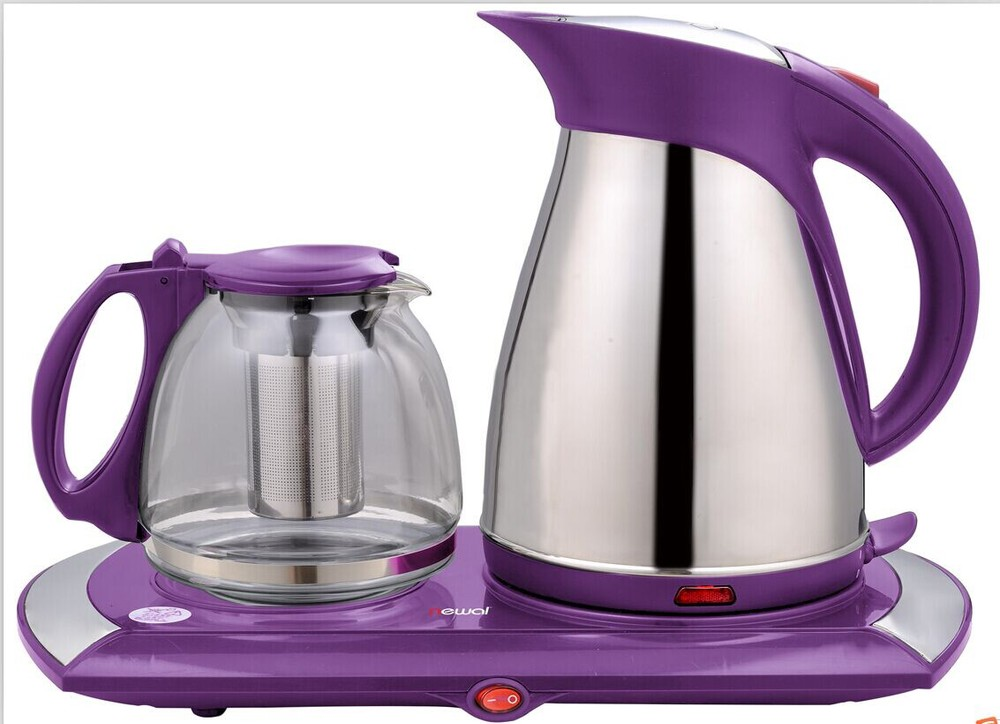 Hot Sale Electric Kettle With Teapot Tray Set Buy