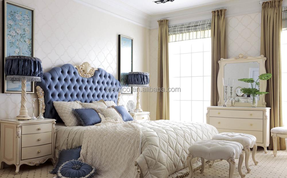 Camere Da Letto Stile Francese : Stile francese mobili imbottiti camera da letto struttura in legno