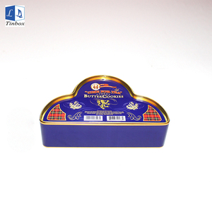 Custom Metal Color Box Printing Food Grade Tin Can