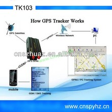 2012 Highly recommend for car/vehicle 60 days TK103 human gps tracking device