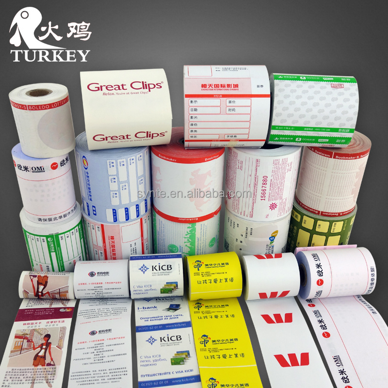 "thermal paper 80*80mm cash register papers rolls pos paper roll 3 1/8"" x 230'"
