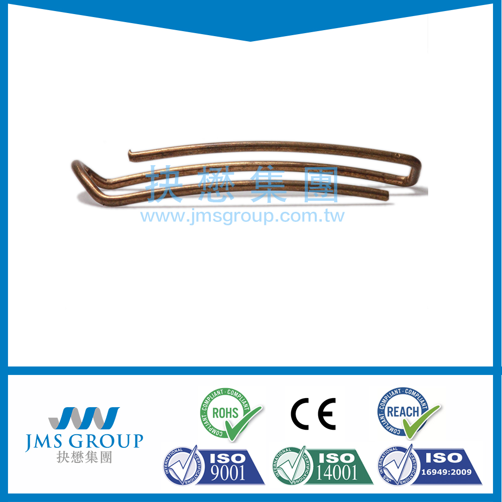 Reliable taiwan supplier TS16949 Bending linear spring Wire Forming Wire Spring Clip