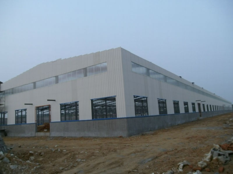 high quality fabricated steel storage warehouse