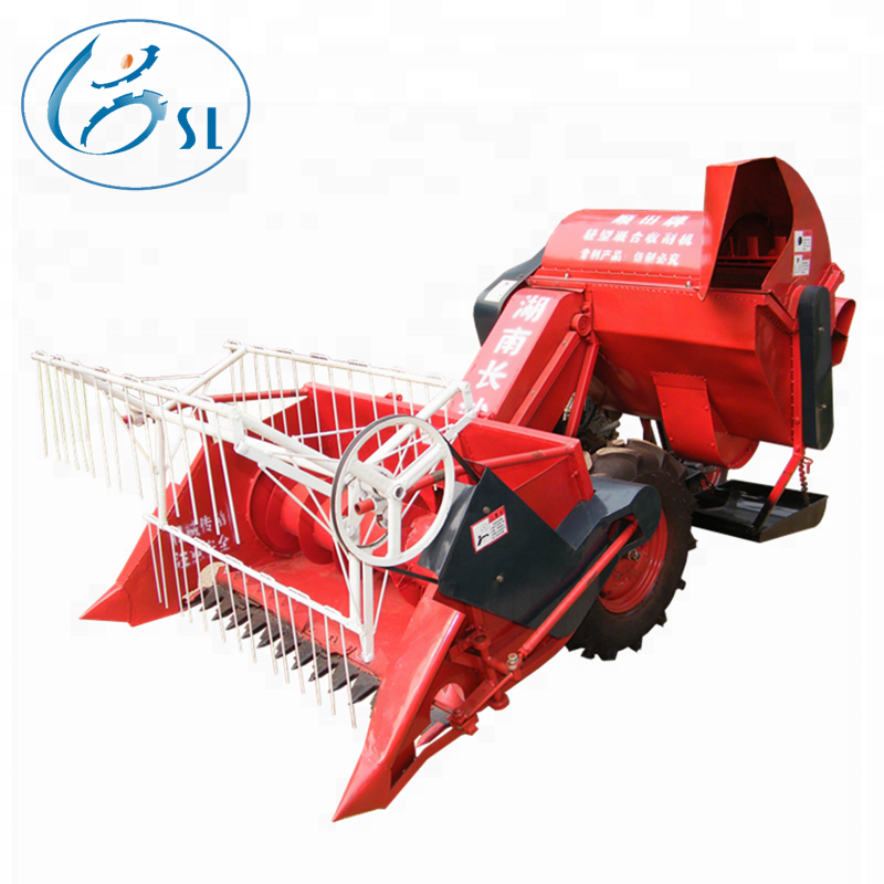 Best selling herb harvester machine, mini combine harvester with best quality