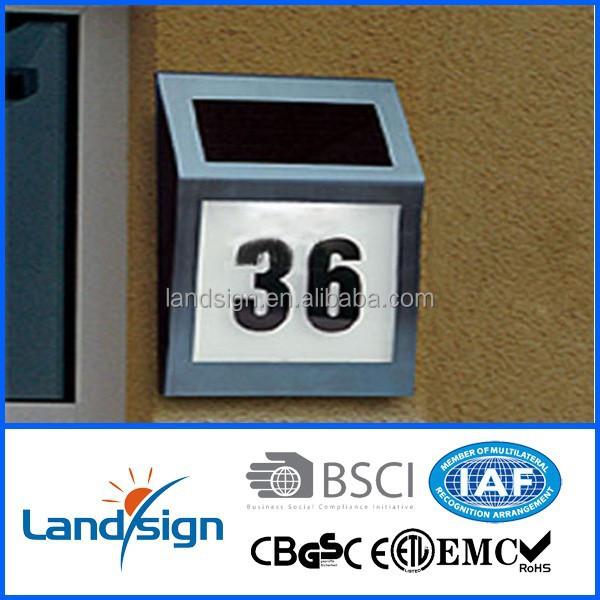 new solar energy products xltd910 address led number light