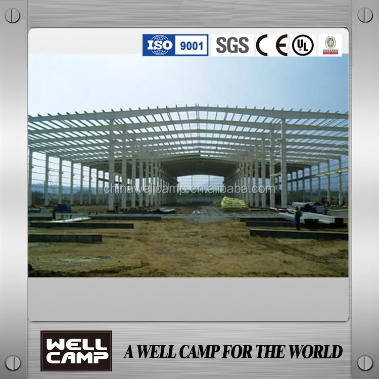 Steel sheet simple strong steel warehouse/prefab house/cabin