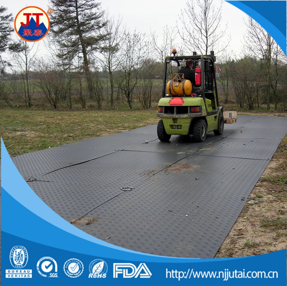 Crane support plates temporary trackways access mats composite mats