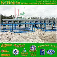 Temporary low cost steel frame heat insulation economic guard house cabins/buildings/homes/houses