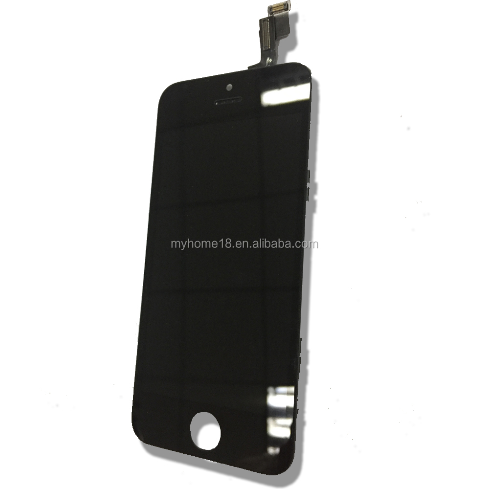 Para o iphone LCD OEM, 100% original premium 5S montagem digitador LCD tela de toque do telefone móvel para o iphone