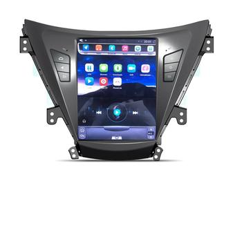 Tesla Vertical Screen 9 7'' Screen Double Din Car Audio For Hyundai Elantra  Car Dvd Player With Car Radio Gps Dvd - Buy For Hyundai Elantra Car Dvd