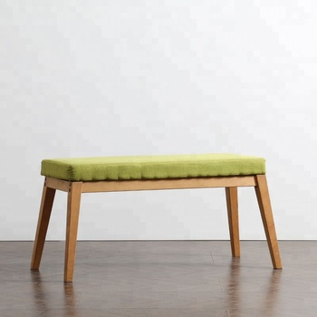 Groovy Modern Outdoorindoor Long Wooden Bench With Soft Cushion Buy Wooden Bench Long Bench Fabric Indoor Commercial Benches Product On Alibaba Com Evergreenethics Interior Chair Design Evergreenethicsorg