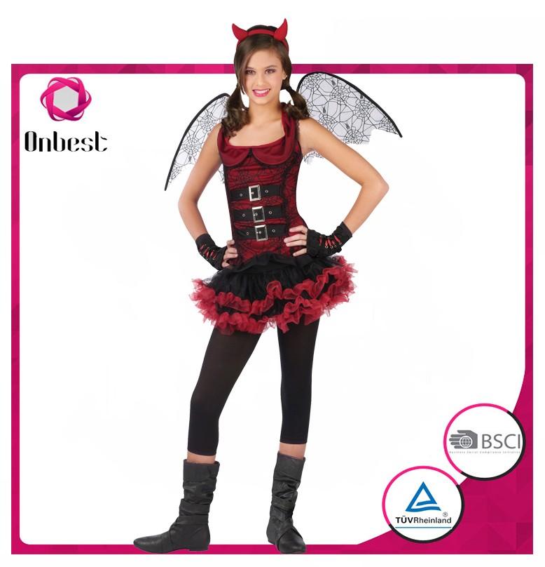 Vestiti Halloween Strega.Onbest Cina Produttore Cat Girl Costume Del Merletto Di Lusso Del Vestito Operato Halloween Strega Costume Per I Bambini Buy Streghe Di Halloween