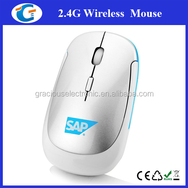Comfort Grip Personalized Optical Wireless Mouse Laptop Mac Wireless Mouse