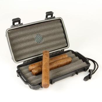 D6001 Ip68 Outdoor Crushproof Waterproof Plastic Cigar Humidor