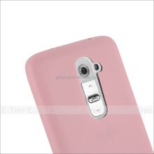 Candy Color Soft TPU Silicone Skin Back Case Cover 5.2 inch mobile phone case for LG G2