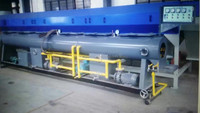 vacuum forming tank for plastic pipe and profile extrusion line