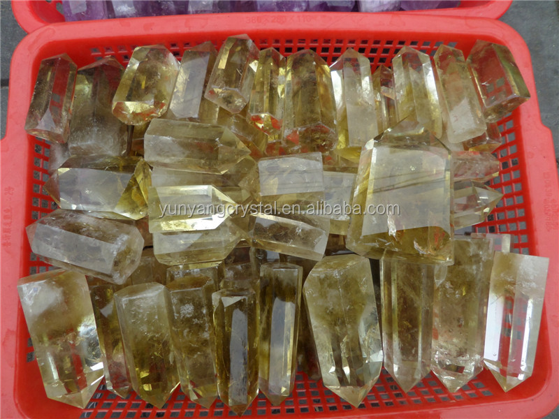 Natural Citrine Quartz Crystal Points Wholesale