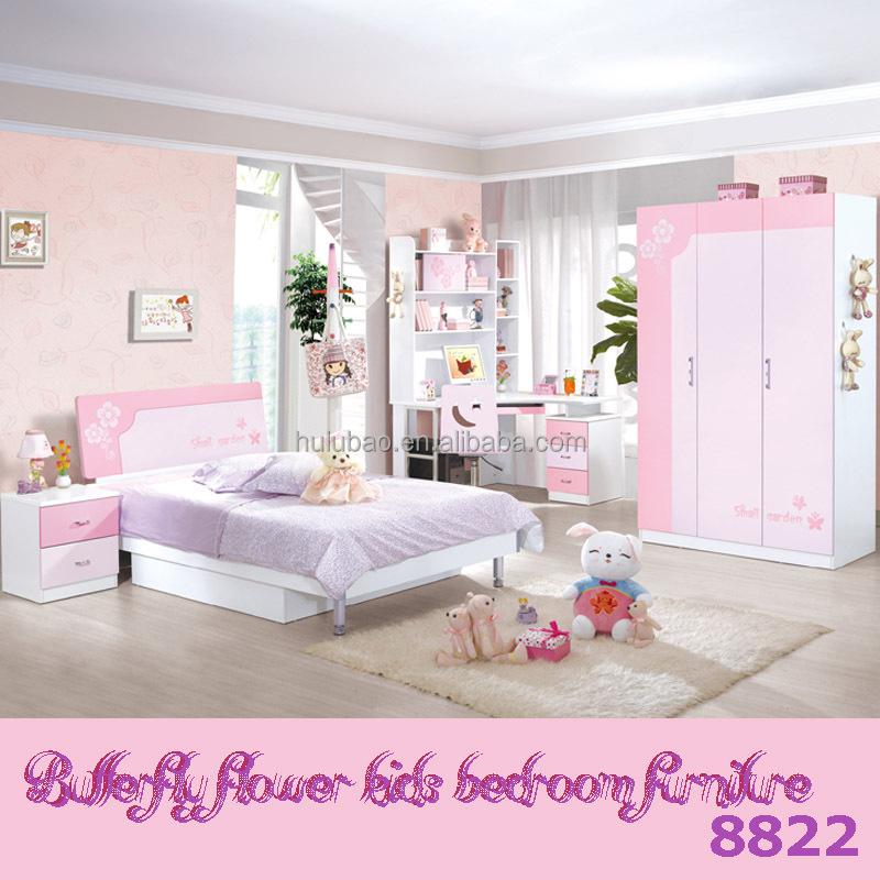 Kinder Schlafzimmer Möbel Set Günstige Mädchen Bett / Schlafzimmer ...