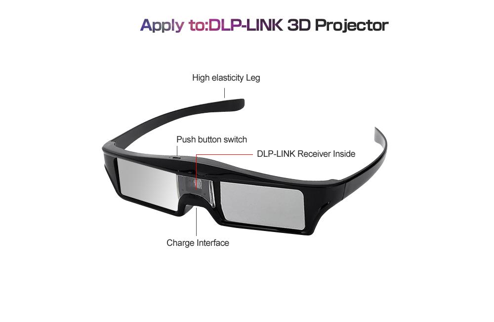 efcec9d2a285 Virtual Reality Adult Sunglasses 3D Bluetooth USB Data lines Man Women  General Shutter Intelligent Eyeglasses