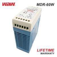 WODE March Expo Single Output Ac Dc 220V 12V Regulated Switching Power Supply 60W