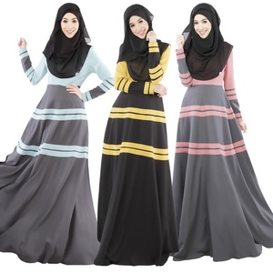 Fashion New arrival islamic arabic kaftan dress daily wear hot sale