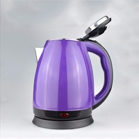Cheap 1.7L double layer stainless steel electric kettle graceful cordless electric water kettle
