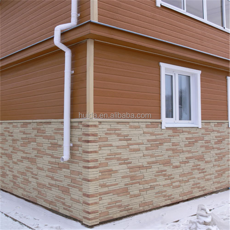 Revestimiento exterior decorativa imitaci n ladrillo for Revestimiento imitacion piedra para exterior
