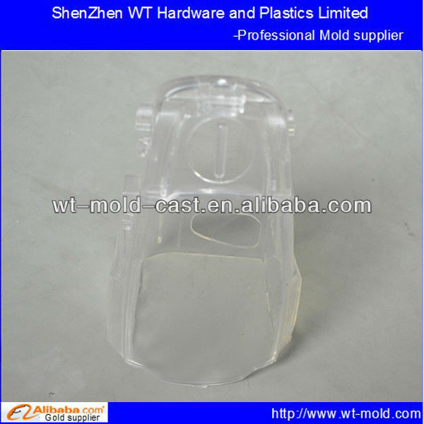 export PS high polished polished transparent electrical shell plastic injection mold