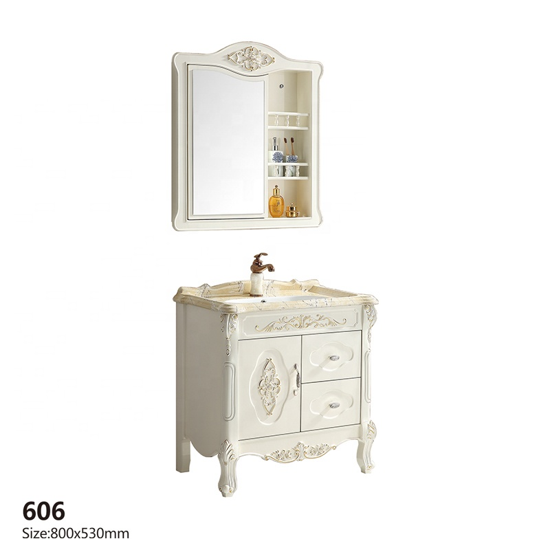 2019 New <strong>design</strong> pvc bathroom vanity cabinet hotsale