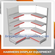 Corner wall shelf,Wall display shelf,Supermarket shelving
