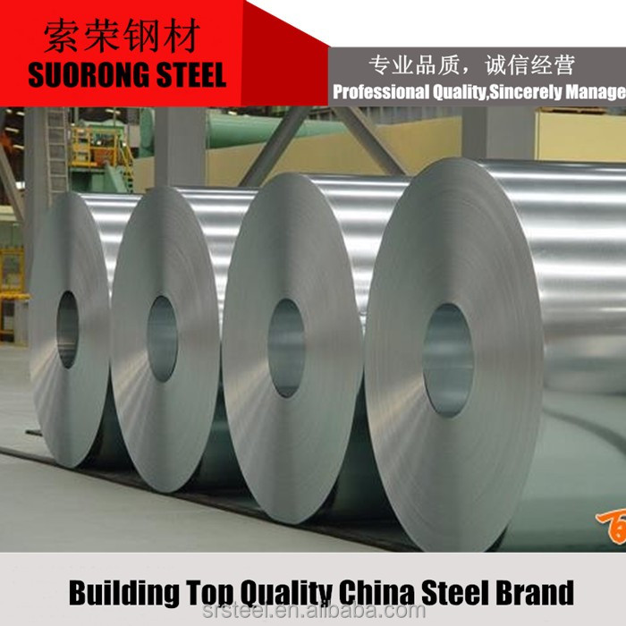 Clients first ASTM JIS Galvanized cold rolled Steel Coil made in China