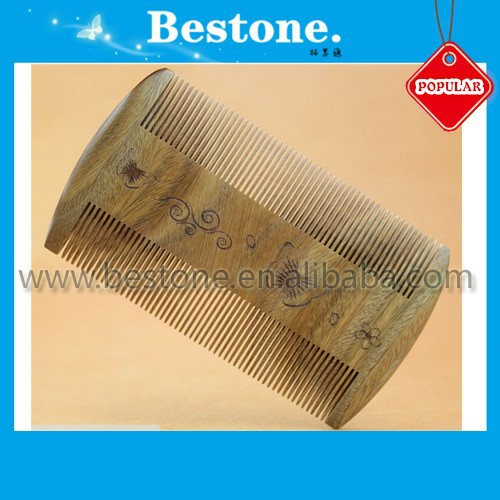 Fine-Toothed Durable Sandal Wood Lice Comb Custom Logo