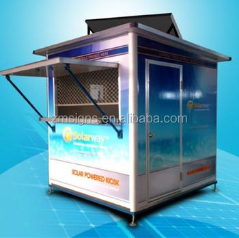 Solar Mobile Phone Charging Kiosk