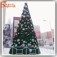 Direct manufacturer snowing Artificial Christmas tree