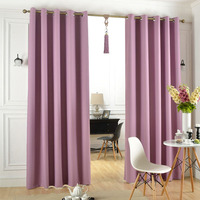 Blackout taro chinese style curtains,window curtain