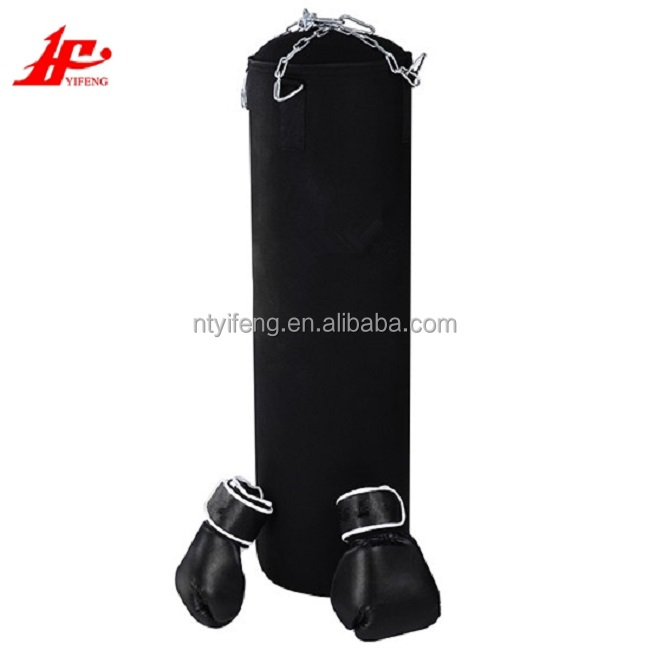 Heavy boxing punch filling training bag