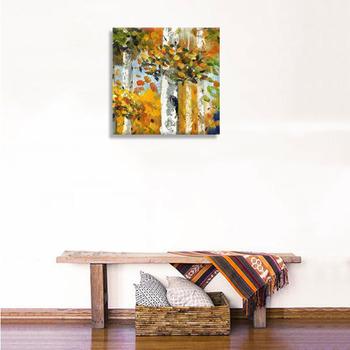 Wandkunst Malerei Moderne Leinwand Landschaft ölgemälde Baum Bilder Für  Wohnzimmer