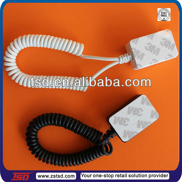 Universal mobile phone security cable