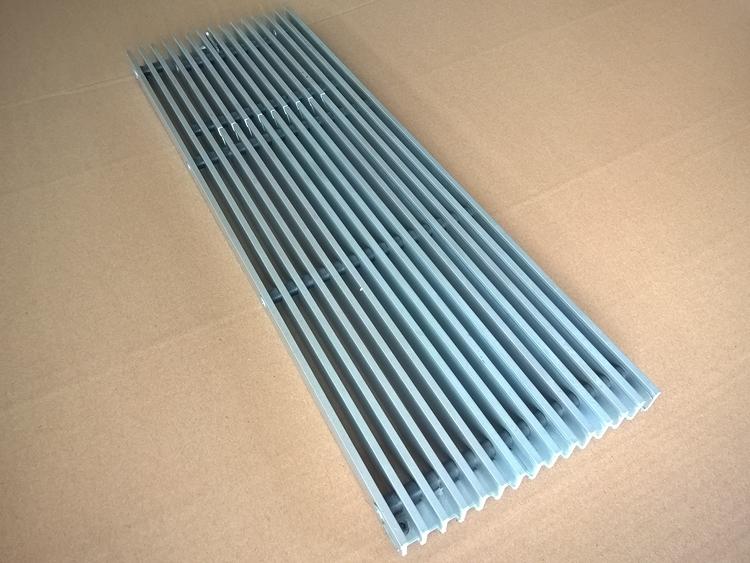 Ventilation Air Exhausting Floor Grilles With Access Door