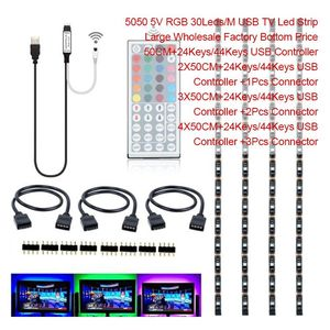 large wholesale 3528 5050 rgb 5v led strip for tv backlight with very economic price