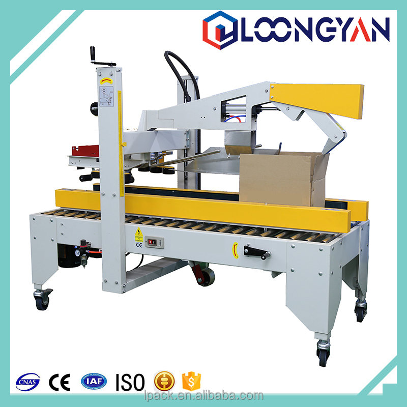 FXJ-01automatic traduction Flap Folding Carton Sealer with tape