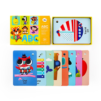 ABC kids educational games cartoon colorful interesting Flash alphabet learning card for children