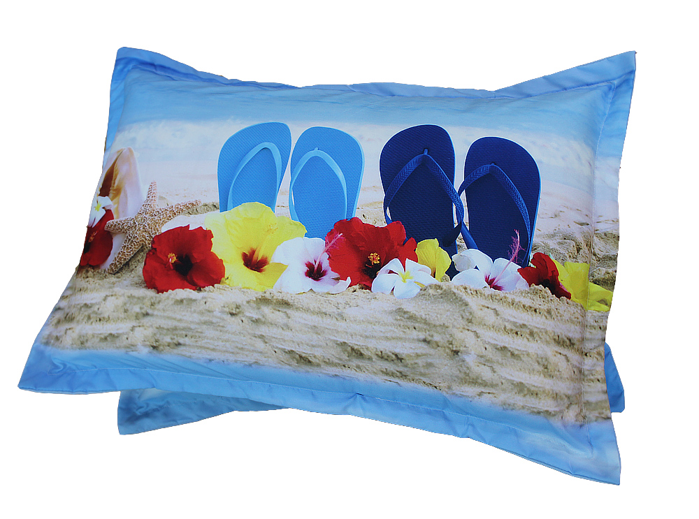Beddengoed set seashell en slippers 3D bed linnen beddengoed set product ID 60375233136 dutch