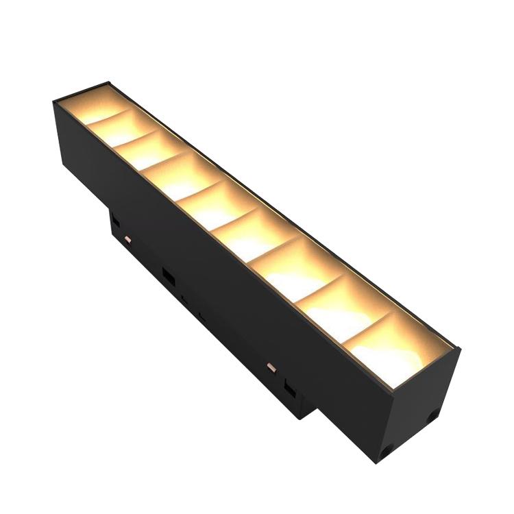 Zhongshan 48V smart 6w 10w 20w 30w dimmabl cob magnetic new led track light