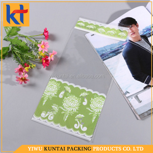 Yiwu factory fancy custom food grade customized packaging decorative opp bag.decorative bread bag